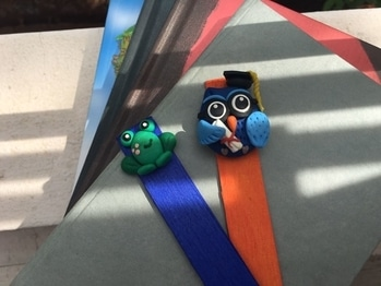 The Wise #Owl and Adorable Bibliophile #Frog Exclusive #Handmade #Bookmarks by Lattu. Shop Now: http://bit.ly/2gXUYWD