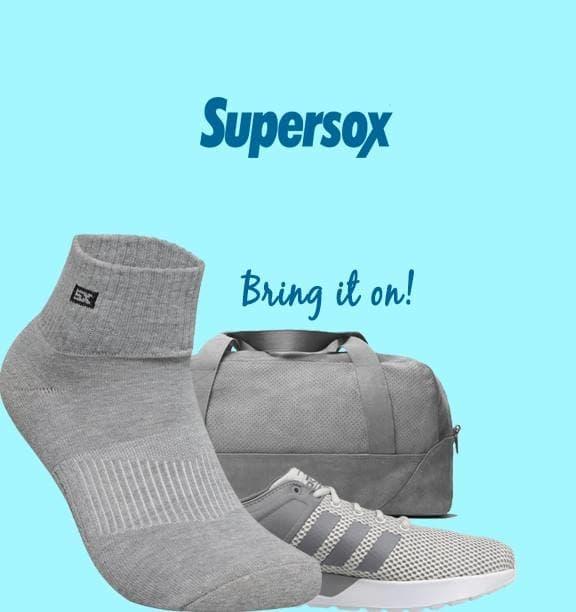 Sweat it out and let your sock soak it up... > http://tinyurl.com/yc92rzj8  . . #Supersox #Supersox #LoveSports #SportsSocks #FitnessGear #GymBag #TerryCotton #BringItOn #MadeInIndia #Sockathon #Marathon #CrossFit #Gym #FitnessFreak #StayFit #Socks #SocksShop #EveryDayMumbai #Accessories #Amritsar #Ahmedabad #Bangalore #Bhatinda #Chandigarh #Dilli #ForHim #Hyderabad  #IndianMen #trendy #indian