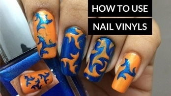 HOW TO USE VINYL NAIL STENCILS