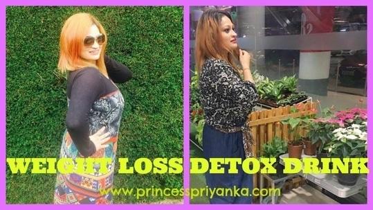 WEIGHT LOSS & GLOWING SKIN DETOX DRINK | I LOST FEW KGS |