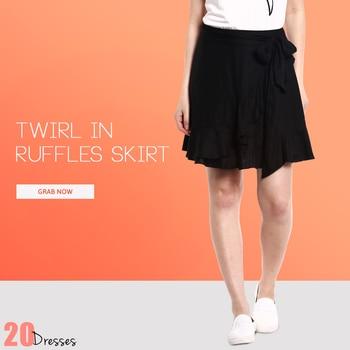 Fun, Feminine & Flattering you van never go wrong with a Ruffles Skirt! #20dresses #20d #postoftheday #picoftheday #pickoftheday #online #onlineshopping #ecommerce #skirts #apparel #newstyles #newarrivals #ruffles #clothingline #clothingbrand #fashionaddict #fashionista #shopoholics