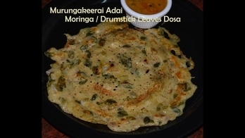 Murungai Keerai Adai / How to make Drumstick Leaves Adai / Moringa Leaves Dosa | Madraasi  Text Recipe - https://madraasi.com/2017/07/28/murungai-keerai-adai-recipe/  Adai can be prepared using moringa/drumstick leaves or murungai keerai leaves also, just we need to blanch the leaves and add them to the batter and prepare hot hot adai's and serve it with chutney, sambar and Idli Podi.   #madraasi #immadraasi #madraasirecipes #food #foodie #foodblog #vegetarianrecipes #breakfastrecipes #healthyfood #healthyrecipes #easycooking #learncooking #Indianfoodblogger #murungaikeeraiadairecipe #adairecipe #adai #drumstickleavesdosa #dosarecipe #lentildosarecipe #moringaplant #moringaleavesadai #roposoblogger #likes #follow #indianfood
