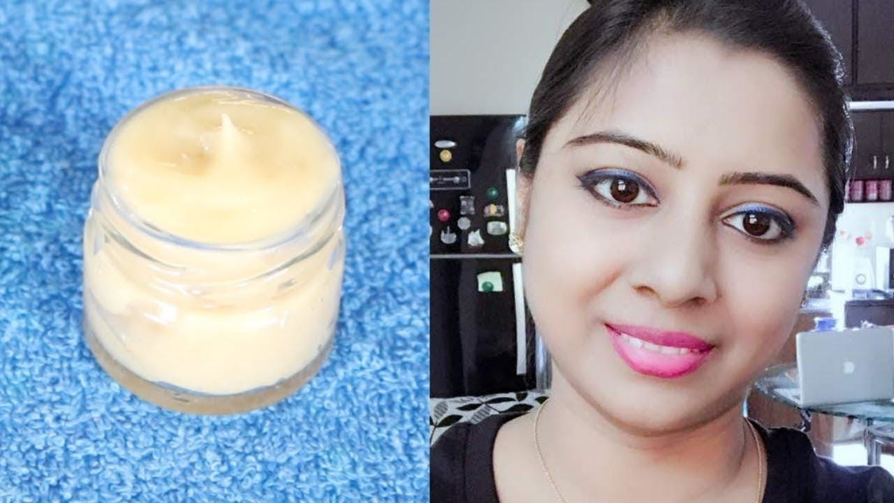 How To Prepare Night Cream At Home To Get A Fair, Spotless And Flowless Skin
