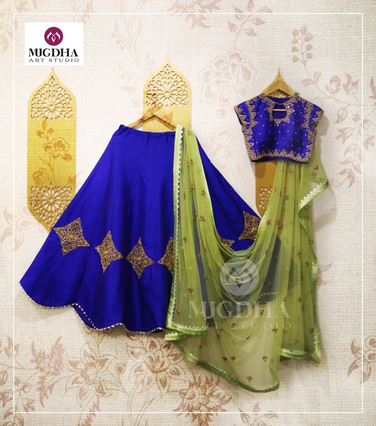 Beautiful Lehenga with Superb Color and creative hand made design. we can customize the color and size as per your requirement Product Code: LHG 301 To Order with us : WhatsApp: +91 8142029190 / 9010906544 For Call: 8899840840 (IVR) #desi #roposome #designer  #trendy