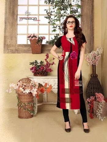 AMAAYA BLOSSOM WHOLESALE KURTI For more info or order You Can #Contact Or #Whatsapp On :+91 7878786838 Email: textilebazar1122@gmail.com