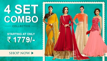 Combo Of 4 Drop Dead Gorgeous Ethnic Wear http://www.ninecolours.com/combo-sets . . #traditionalwear #combooffer #ethnicwear #shoponline #ninecolours #hurryup #bollywoodstyle #instalike #indowestern  #instagood #photooftheday #collection #combo0ffer #shopnow #shoponline #buynow #beautiful #offers #lehengas #womenswear