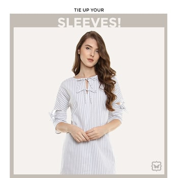 Tie Up- Flaunt Your Style In This Dress With Edgy Tie Up Detailing On The Sleeves!   Shop on http://bit.ly/2v6t7pQ  #soroposo #onlineshopping #shopping #colour #shoppingtips #fashion #fashiontips #photooftheday #trendy #musthave #nowtrending #stylish #blogger #love #follow #fashionblogger #styleblogger #awesome #ootd #potd #ruffletop #summerstyle #summer #summer17.