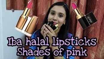 Shades of pink | Iba halal care pink lipstick collection | Indian beauty blog | Cutiful blogger #ibahalal #ibahalalcare #ibahalalcarelipstick