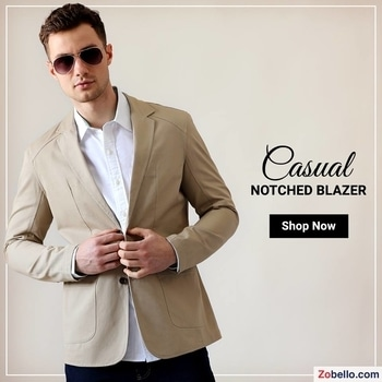 Monday done right with a casual statement blazer. Shop @https://goo.gl/mdkDde   #zobelloclothing#fashion#shopping#menswear#blazers