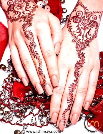 #Wedding seasons special | Decorate your #hands with this #mehendi #henna design and look more attractive at festive gatherings. www.ishimaya.com #mehendi #mehendilove #mehendidesign #mehendigiveaway #mehendiphotography #mehendiartist #mehendi design #mehenditime #mehendifunction #mehendioutfit #mehendi_tattoo #mehendiceremony #mehendigift #mehendinight #mehendionhands