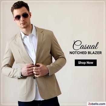 Shop Casual Blazer @ https://goo.gl/hbndxb  #fashion #shopping #menswear #blazers