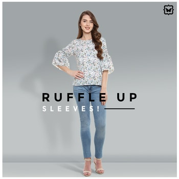 This Dainty Top With Ruffled Sleeves Is Super Elegant! Perfect For A Brunch!    Shop on http://bit.ly/2vnwHel   #soroposo #onlineshopping #shopping #colour #shoppingtips #fashion #fashiontips #photooftheday #trendy #musthave #nowtrending #stylish #blogger #love #follow #fashionblogger #styleblogger #awesome #ootd #potd #ruffletop #summerstyle #summer #summer16.