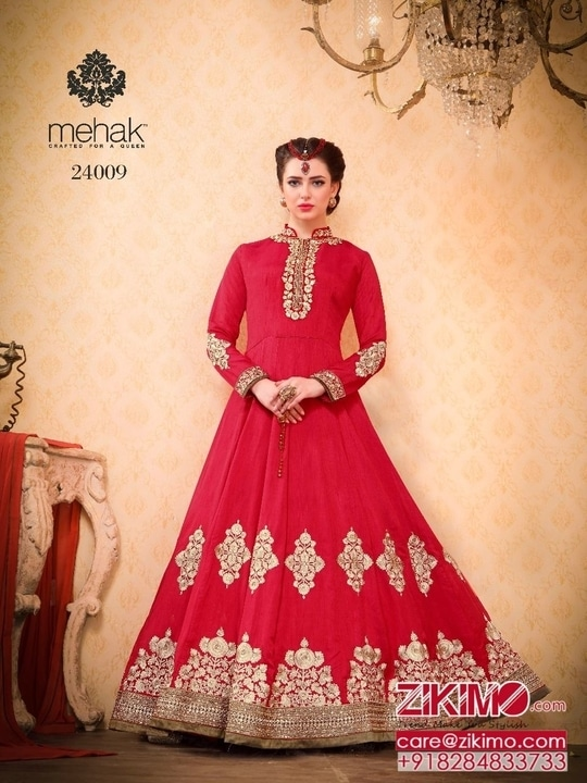 Get Gorgeous Looks In Karwachauth Special Anarkalis
