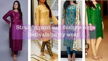 Hey girls check out my new video about latest straight pant suit designs for upcoming festive season #youtuber #youtubeindia #youtubechannel #youtubevideos #latestfashion #pantsuit #plazzosuits