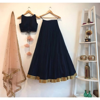 Made to order custom design outfit Blue and peach crop top lehenga CODE : PT 273 Fabric : Raw silk+tulle Work :sequins Price : Rs. 5599 Contact : 8779965613 (whatsaap)/02228661616) Email : designer@ninecolours.com #youdesign#croptop#lehenga#designerdress#fashion#style#shopping#shop#shopnow#stylish#photooftheday#instagood#instafashion#girlswear#glamour#fashionable#beautiful#buyonline#buy#instalove#fabulous#trending#instalike#sequinswork#peach#bluelehenga