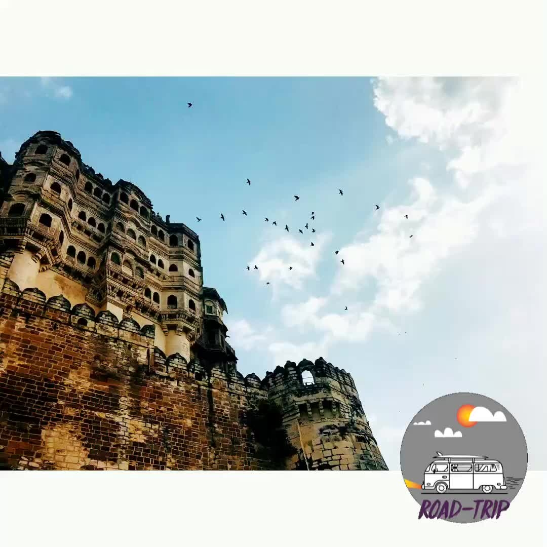 A trip to mehrangarh fort! #traveldiaries #musafir #jodhpur #roadtrip #travel