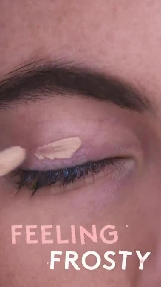 #makeup #makeuptips #eyemakeup  #frosty . . Source: Refinery29