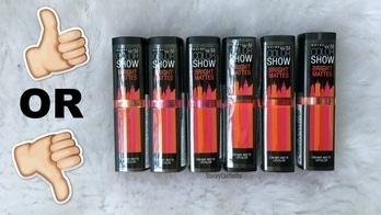 #maybellineindia #maybelline #lipstickjunkie #lipstickswatch #video #review #videooftheday