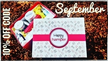Happy Hamper of September has 4 Skincare products and a Lip crayon of the shade of your choice. It also has a surprise jewellery piece too. It came with my most favourite mask and a very unique & useful skincare product in it. I was happy with the contents of the September Box and I think you would be too! 😊 Watch the unboxing & review video for more details.🤗 😊 You can buy this box here : http://happyhamper.in Price - Rs. 699 including shipping  After discount Price - Rs. 629 including shipping  10% OFF Discount code - HAPPYSONA10 😊 #happyhamper #beautybox #september #monthlysubscription #skincare #haircare #Footcare #fragrance #happiness #affordable #unboxingandreview #youtuber #discounts #honestreviews #sonammahapatra #beautytips