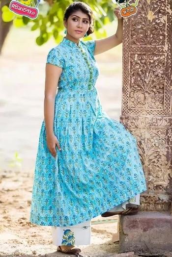 #cottonkurta #ethnic-wear #handblocked #blockprints #classic-beauty #blue-coloured #indigolove #handblockprinted #cotton #dress #festivefashion #indian #greyandgreen #grayandgreenstore #desi #banthanke