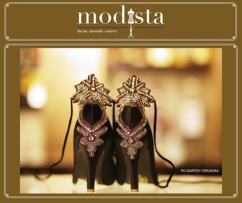 VERUSCHKA showcasing @ MODISTA on the 15th & 16th Sept @ Roda Al Murooj, Dubai. VERUSCHKA is about the passion for shoe making. Known for its exquisitely handcrafted statement heels, Veruschka is a line of luxury shoes for women, that promises to bring out the sexy in you. #dubaiexhibition #savethedate #bethere #nottomiss #mydubai #fashiondesigner #apparel #accessories #jewelry #homedecor #shoptillyoudrop #shopoholic #modista #vesimi #fashion #jewellery #jewelery #accessory #modistadxb #exhibition #luxury #shopping #instafashion #indiandesigner #instachic #howtostyle #getthelook