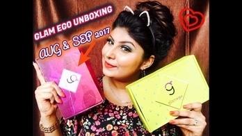 NEW VID ALERT 🚨  GO HIT THE SUBSCRIBE NOW ♥️🌹😻Inside Aug & Sep GlamEgo Box 2017 📦 DC OFFICIAL MAKEUP #glamegobox #glamego #glamegoseptember #muaindia #mua