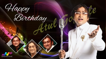 Happy birthday to a Magical musician, a versatile singer Atul Gogavale. #AjayAtulOnline #Atulgogavale #AjayAtul #singer #music #musician #musicdirector #Nashik #fame #NashikFame #HappyBirthday #wishes