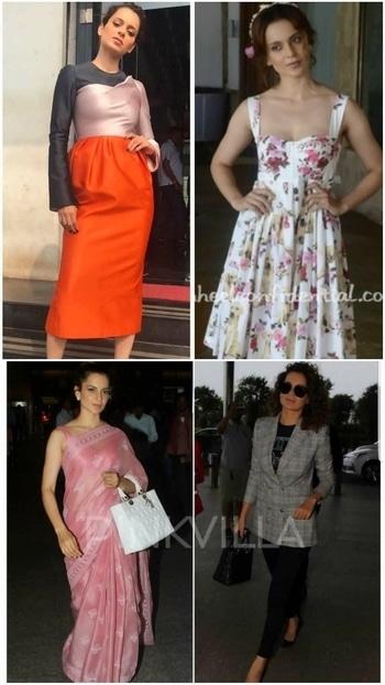 💜 STYLE ON MY MIND 💜 #kanganaranaut a chameleonic force ,she stands out in everything and anything.😙😙😙 #bollywoodfashion#bollywoodstyle#bollywooddiva# designerwear#instyle#design2017#fashion2017#saree2017#fabindiasaree#fashionstatement #fashiondiva#glamour2017#roposostyle#roposofashion#roposo-makeupandfashiondiaries #roposofashionbloggernetwork #roposofashionblog#delhifashionbloggernetwork  #celebrityfashion