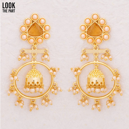 Make your small celebrations more splendid with our Voylla earrings.#VoyllaCelebration #LookThePart Shop here:https://goo.gl/TKp5oH