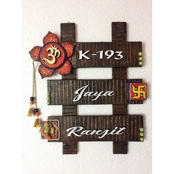 Wooden Nameplate  SHOP NOW : http://bit.ly/2f5B6k5  #be-fashionable #ropo-love #trendy #fashion #designer #beauty #fashionblogger #followme #newdp #roposo #love #soroposo #blogger #wordpower #nameplate #homedecor #fleaffair #handmade #woodennameplate