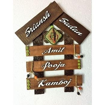 Wooden Hut Nameplate  SHOP NOW : http://bit.ly/2jo1cjF  #be-fashionable #ropo-love #trendy #fashion #designer #beauty #fashionblogger #followme #newdp #roposo #love #soroposo #blogger #wordpower #nameplate #homedecor #fleaffair #handmade #woodennameplate