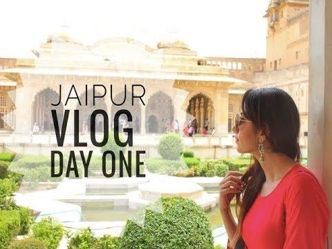 JAIPUR VLOG Day One| Forts Amer & Fun under the sun #Vlog #travel #travelblogger #indianblogger #fashion #jaipur