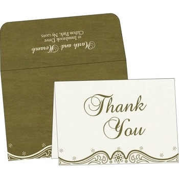 Give your #weddingguests a special feel by sending them these attractive #ThankYouNotes. #Celebrate your #wedding with 123WeddingCards.  Visit: https://www.123weddingcards.com/thank-you-cards  #weddings #weddinginvitations #ThankYouCards #ThankYouInvitations #ThankYouNote #weddingstyle #weddingideas #weddingcards #weddinginspiration #weddingplanning #lasercut #floralinvites #weddinginvites #instawedding
