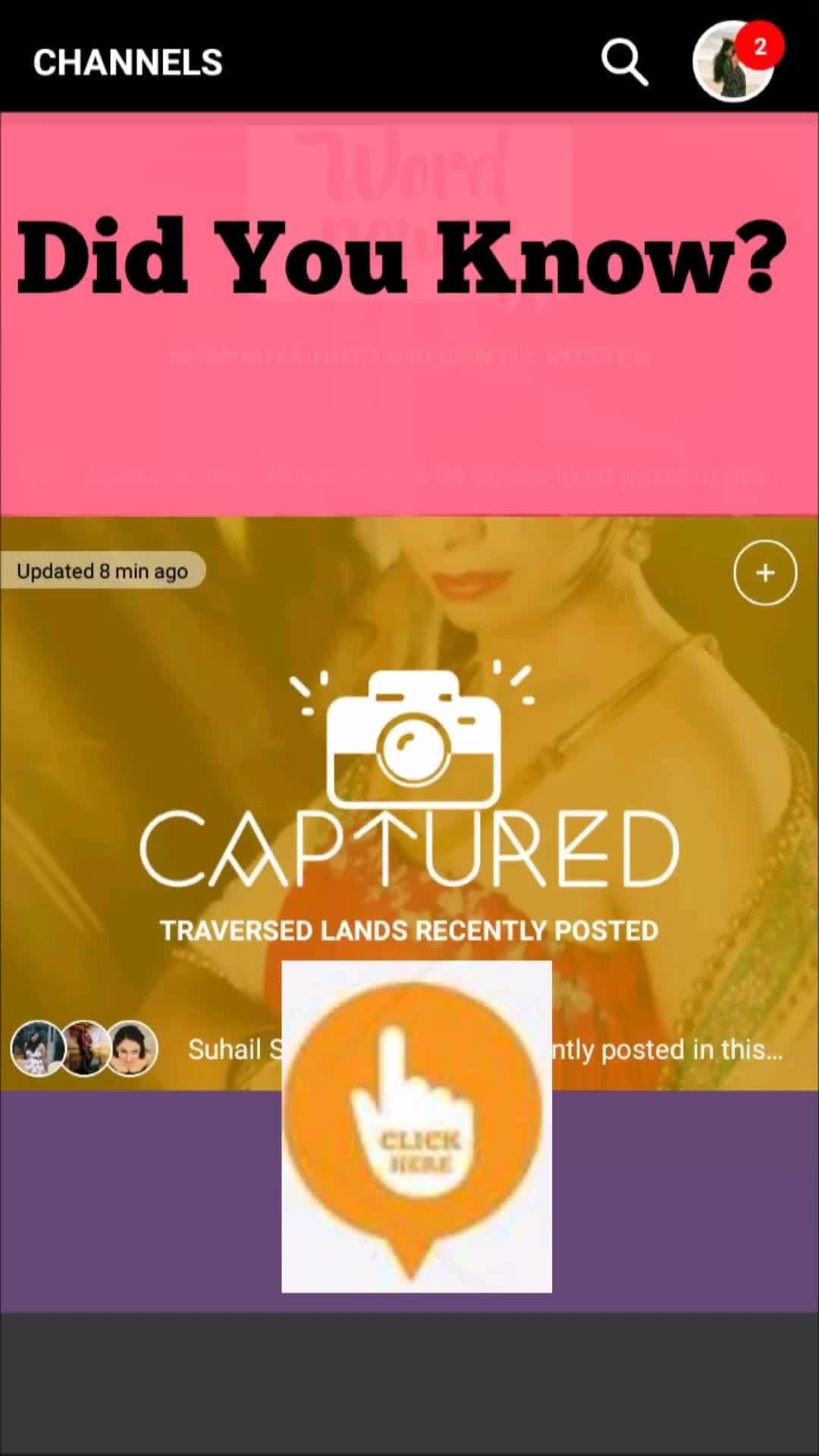 What Is Channel CAPTURED all About?  Well this channel on ROPOSO TV gives all the photographer and potential photographers to post their pieces of art that they have captured in their camera lenses.  #captured #photoart #photography #naturephotography #fashionphotography #weddingphotography