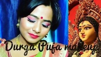 Durga Puja Navaratri makeup look || bengali makeup|| 2017  #durgapujamakeuplook #navaratripic #durgapuja selfie #durgapujamakeuptutorial  #bonggirls #bengalisarees #bongs #makeupaddict #makeup and eyes makeup #eye-makeup #fitmemaybelline #lakmeindia #festivalsaree #festivalmakeup  #youtubecreators #youtuberindian #makeupartistindia