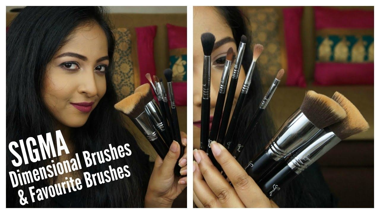 SIGMA DIMENSIONAL BRUSHES First Impressions & My Favourite Brushes from SIGMA | #SigmaStaples #makeup #makeupbrushes #makeupbrusheshaul #sigmabeauty #bestmakeupbrushes