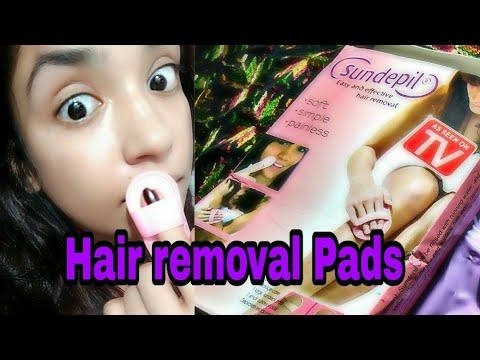 Hair Removal Pads   Does it work? Hindi review #skincare