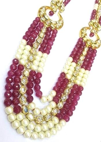 GURUJI kundan Necklace Set for Women #guruji #necklacelove #necklace #womenwear #women-fashion   #trendy-jhumkas  #tshirt #Tees #mens Tee #fun #ropo-style #like #model #ootd #fashionblogger #beauty #newdp #roposo #ffdesignerhunt #blogger #followme #indian #soroposo #love #fashion #wordpower  *Price Rs. 4500 *Link  https://www.amazon.in/GURUJI-kundan-Necklace-Set-Women/dp/B0746JKHLX/ref=sr_1_1?s=jewelry&ie=UTF8&qid=1505475970&sr=1-1&nodeID=1951048031&psd=1&keywords=GURUJI+kundan+Necklace+Set+for+Women