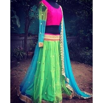 Navratri Lehenga Traditional Wear Bollywood Style  SHOP NOW : http://bit.ly/2x1ApPP  #roposogal #nationspeaks #model #blogger #fashionblogger #roposo #love #designer #beauty #ootd #indian #styles #soroposo #newdp #fashion #followme #wordpower #fleaffair #lehenga #lehengacholi #designerlehenga  #navratrilehenga