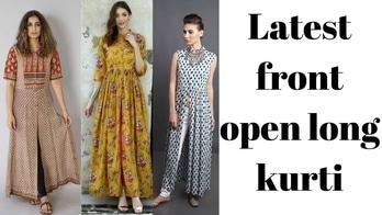 latest front open kurti #latestkurtis #kurti #kurtidesign #kurtisdesigns #frontopenkurti #fashionbloggerindia #fashionblogger #youtuber #youtubeindia #youtubechannel #youtubecreatorindia #youtubevideo