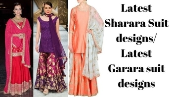 Hi girls, check out latest Sharara and garara suit designs for the upcoming wedding functions #shararasuit #sharara #garara #garara_suit #ghararas #fashion #women-fashion #indianfashionblogger #fashionblog #youtuber #youtubeindia #youtubechannel #youtubecreators #youtubecreatorindia #youtubevideo