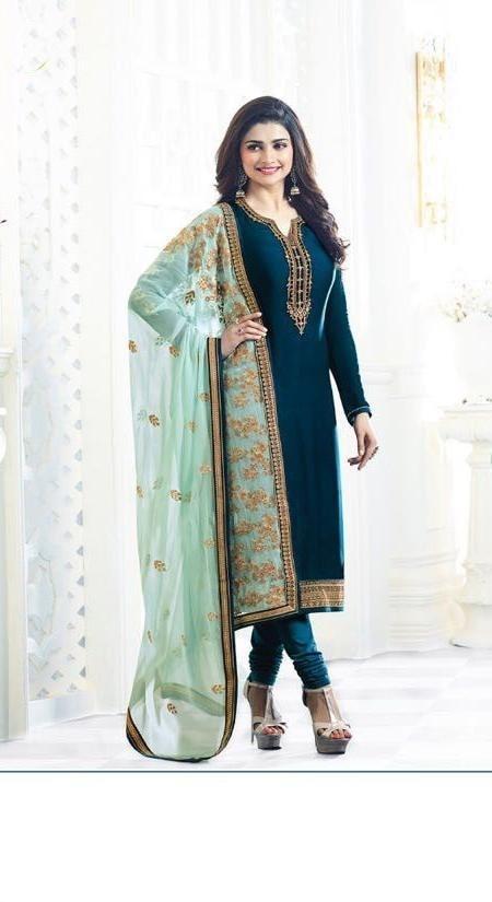 Navy Blue Color New Fancy Maharani Satin Salwar Suit   #salwar #look #looking #design #amazing #popular #new #look #collection #trend #trending #design #fashionable   https://goo.gl/BJwH3i