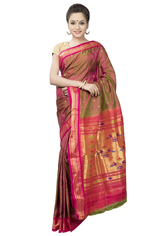 Visit www.OnlyPaithani.com to buy latest collection of paithani, banarasi, gadwal, maheshwari and irkal sarees at affordable price.