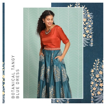 """It's time to upgrade your wardrobe for the upcoming festive season with """"Festive Imprints"""", the new collection of Vajor, inspired deeply by block printing... #bohofashion #boholife #festiveimprints"""