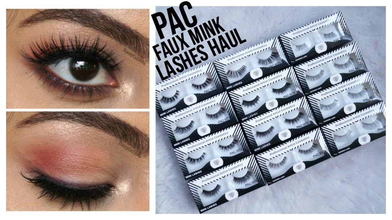 PAC Eyelashes Haul & Try on Review | Stacey Castanha #eyes #eyelashes #paccosmetics #paccosmeticsindia #paccosmeticslashes #fakelashes #makeuphaul #video #youtubevideo #youtube #youtubeindia #bblogger #beautyblogger #punenlogger #punefashion  #eyemakeup