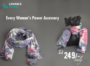 Classic . Unique . Versatile That's how we describe them! 😍😁 Scarves will never go out of fashion, which is why we love them to death! Pair our printed scarf with your next casual look and become the talk of the town. Winter or summer, scarves will always make you look better! DM us to buy now at Rs. 249/-only! Free Shipping. Hurry 🏃♀ Place your order on below social media handles: Insta - lovable_vogue Fb - lovable vogue Call/Whatsapp - +91 88794 97752/ +91 9820998953  #accessory #scarf #scarves #style #jewellery #roposo #soroposo #jewelleryaddict #accessoriesaddict #ropo-love #followme #fashion #trendy #outfits #newdp #lovable_vogue #ootd #lvcollection