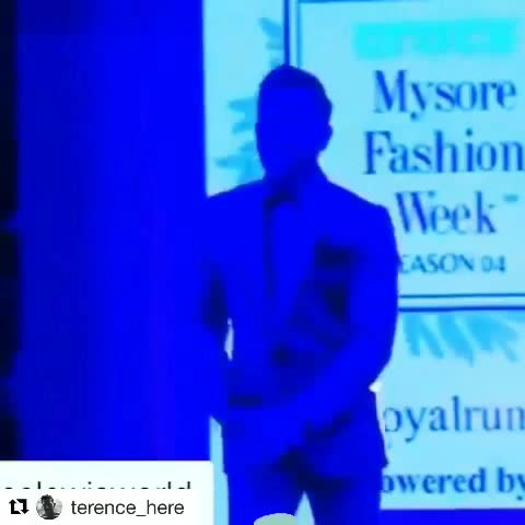@mysoreweek show stopper terence  lewis  for @asifmerchant #asifmerchant #hautecouture #designer #collection #fashion #be-fashionable #fashionables #ropo-fashion #in fashion 💖 #fashionweek #fashion week       #fashion show           #fashion, style  #suit fashion #mensstyle