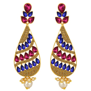 Spargz Antique Gold Plated Multicolor AD Stone...  SHOP NOW : http://bit.ly/2xhYwJf  #shopping #roposostar #designer #ropo-love #model #black #roposogal #soroposo #beauty #nationspeaks #travel #styles #fashion #ootd #followme #indian #blogger #fashionblogger #roposo #newdp #love #travelthrowback #earrings #jewelry #jewelrylover #diwalinights #diwaligifts #fleaffair #karwachauth