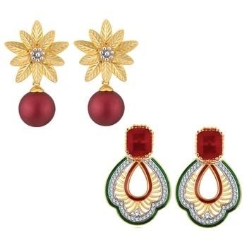 Spargz Gold Plated AD Stone Leafy Star...  SHOP NOW : http://bit.ly/2hemyM7  #shopping #roposostar #designer #ropo-love #model #black #roposogal #soroposo #beauty #nationspeaks #travel #styles #fashion #ootd #followme #indian #blogger #fashionblogger #roposo #newdp #love #travelthrowback #diwalinights #diwaligifts #fleaffair #karwachauth #earrings #jewellery  #jewelrylover