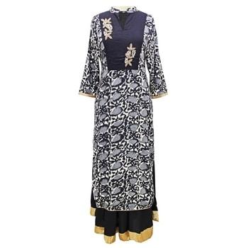 Cotton Blockprint Dress  SHOP NOW : http://bit.ly/2yb9MVE  #shopping #roposostar #designer #ropo-love #model #black #roposogal #soroposo #beauty #nationspeaks #travel #styles #fashion #ootd #followme #indian #blogger #fashionblogger #roposo #newdp #love #travelthrowback #diwalinights #diwaligifts #fleaffair #karwachauth #kurti  #kurtilove #longkurti